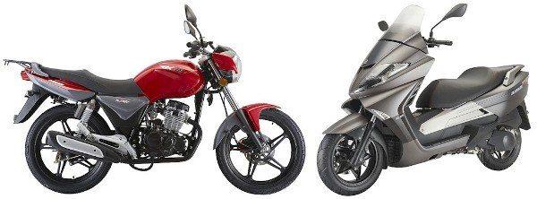 A Keeway, marca também montada pela Bramont, vai apresentar alguns de seus modelos de motos e scooters de 125 a 250 cc