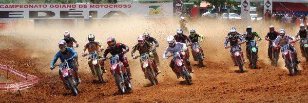 Largada da MXFL na 5ª etapa do Goiano de Motocross