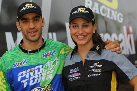 Os irmãos Antonio Jorge e Mariana Balbi