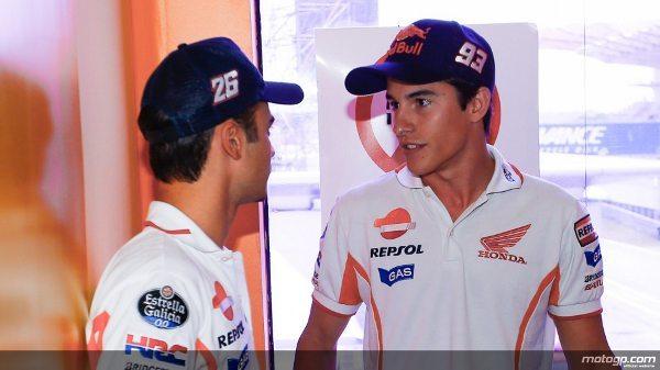 Dani Pedrosa e Marc Marquez da Repsol Honda Team