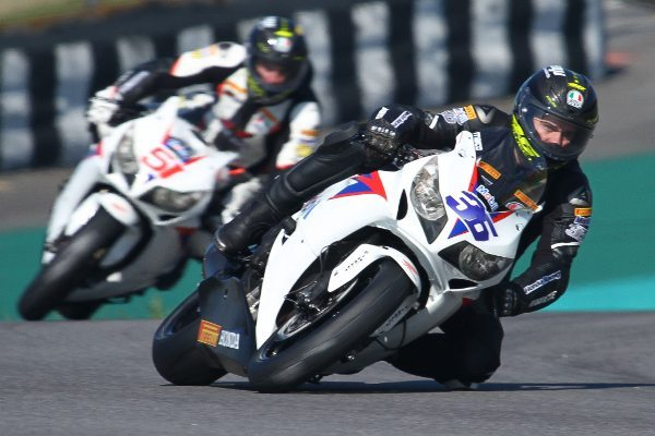 Maico Teixeira, piloto da Equipe Honda Mobil de Motovelocidade na categoria SuperBike Pro do SuperBike Series Brasil 2013