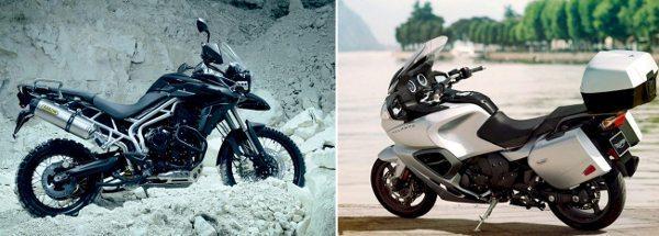 A Tiger Explorer 800XC e a Trophy estarão entre os 7 novos modelos prometidos pela Triumph