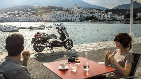 Yamaha X-Max 250, grande sucesso no mercado europeu