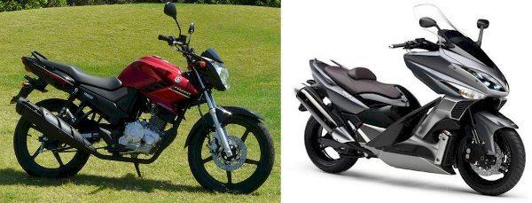 A Fazer 150 deverá ser a vedete da Yamaha no Salão; a marca vai expor também o  Scooter T-Max 500, lançamento futuro da marca