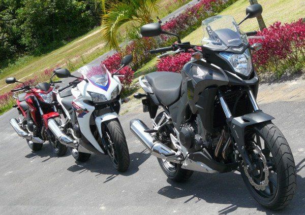 """Com este """"trem"""", a Honda quer alcançar 30 mil motos por ano a partir de 2016 e obter quase 50% de participação no segmento de motos acima de 450 cc, se os preços permitirem"""