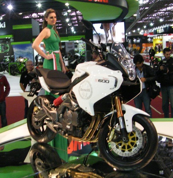 Benelli B600 Trail, lançamento mundial da marca no Brasil