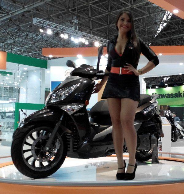 Keeway, nova marca, novos scooters e motos; este é o Logik 150