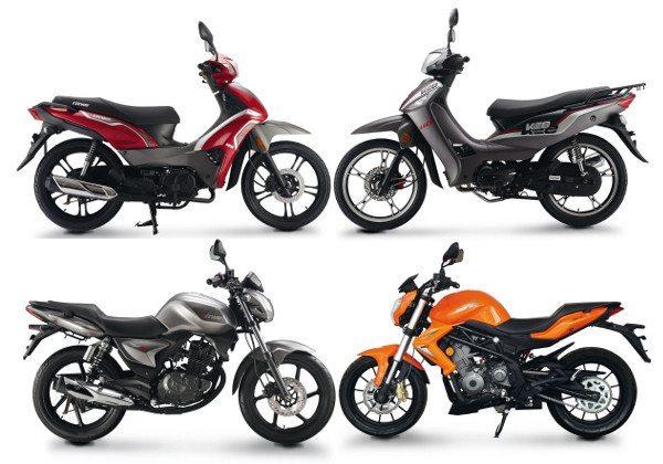 Keeway: motos de vários estilos e versões