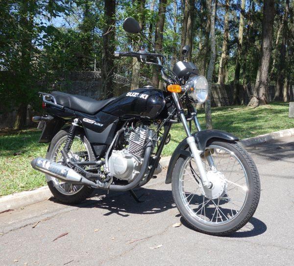 Suzuki motocicleta com preço de motoneta