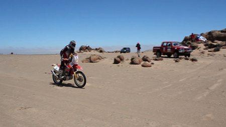 Dário Júlio concluiu a terceira etapa na sexta colocação