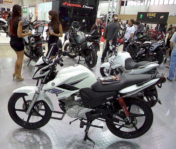 A nova Yamaha Fazer 150 é uma das poucas motos de pequena cilidrada no Brasil Motorcycle Show