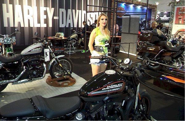 A Harley-Davidson trouxe praticamente todos os seus modelos topo de linha