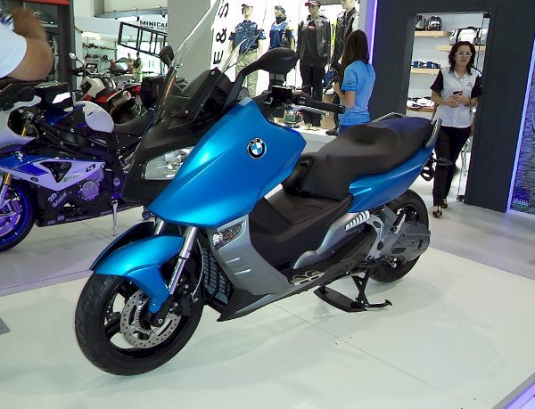 Scooter C600 da BMW