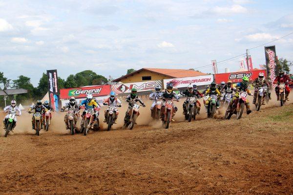 A cidade de Quadra recebe a final do Campeonato Leste Paulista de Motocross