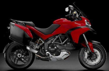 A Ducati Multistrada 1200 será a moto oficial do programa