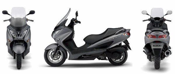Suzuki Burgman 200. Se vier para o Brasil vai agitar o mercado de scooters