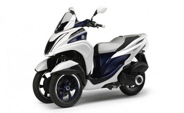 Scooter conceito Yamaha Tricity de 125cc