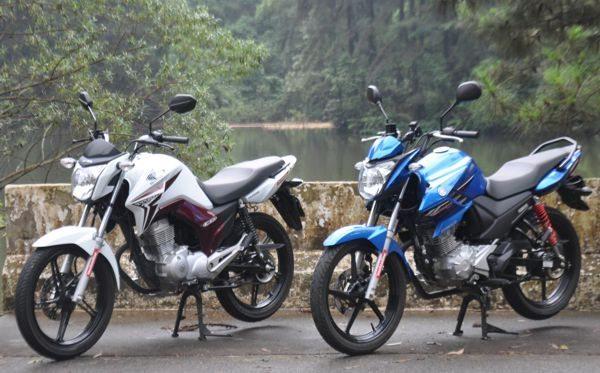 Honda Titan e Yamaha Fazer 150 - Semelhanças e diferenças