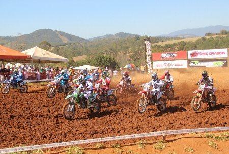 Neste final de semana tem a última etapa da Copa Interestadual de Motocross
