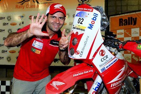 Jean Azevedo e sua Honda CRF 450X