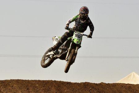 O brasileiro José Felipe está bem próximo de conquistar o título da MX1 no motocross argentino