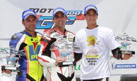 Pierluigi, Gutierrez e Ribodino fizeram o pódio da GP 1000