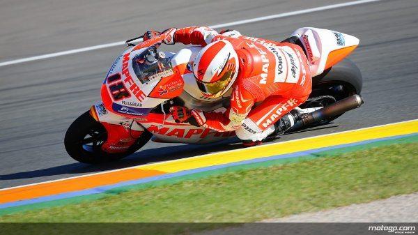 Nico Terol da Aspar Team Moto2, vencedor em Valência