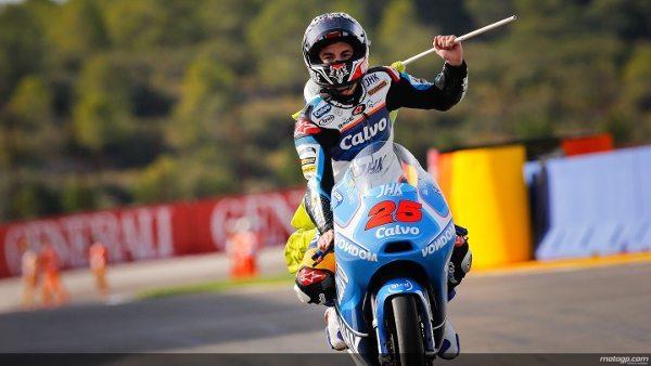 Maverick Viñales, campeão mundial de Moto3™ em 2013