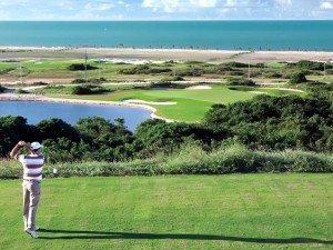 Campos de golfe perfeitos
