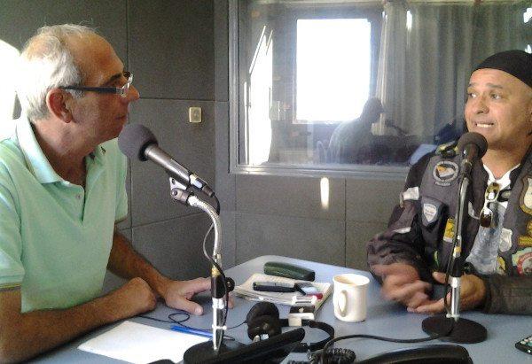 Entrevista na rádio de Bahia Blanca