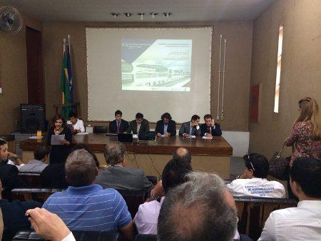 Reunião para discutir o cronograma de obras do Autódromo de Brasília