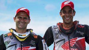 Jean Azevedo e Dário Júlio da Honda Racing Rally Team reprentarão o Brasil nas motos, no maior espetáculo off-road do planeta