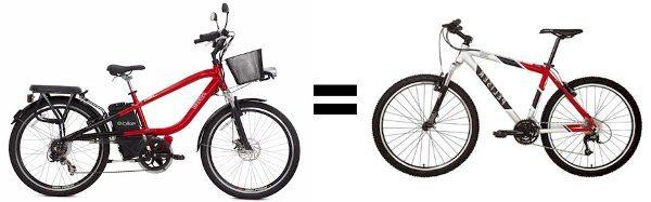 Bicicleta elétrica é equiparada à bicicleta comum