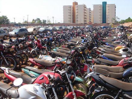 Sua moto será tratada com todo carinho no pátio do Detran (foto: Detran de Rondônia)