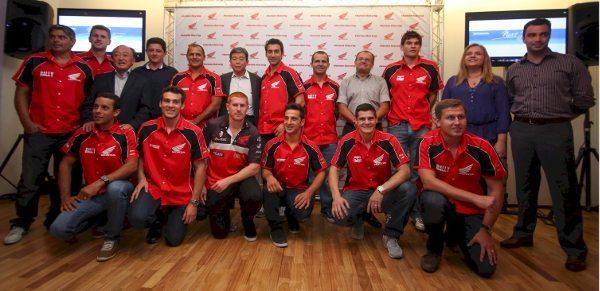 Honda celebra temporada 2013 em festa com pilotos, equipes e imprensa - foto de Luiz Pires