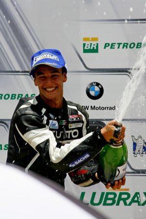 Campeão antecipado, Luciano Ribodino foi o segundo colocado na corrida em Cascavel