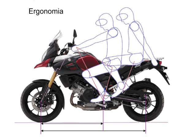 A ergonomia foi melhorada para oferecer bastante conforto para duas pessoas