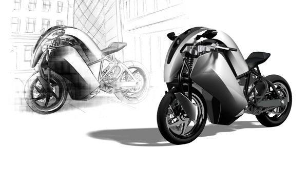 Desenho arrojado na proposta radical de um veículo integrado ao meio ambiente