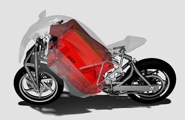 Saietta - Essa moto resulta de pesquisas intensas no dimensionamento dos requisitos necessários ao melhor desempenho