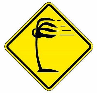 Cuidado - Vento lateral