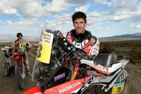 Joan Barreda vence novamente e assume a liderança com folga de mais de 13 minutos sobre o segundo colocado, Cyril Despress - foto do arquivo pessoal do piloto