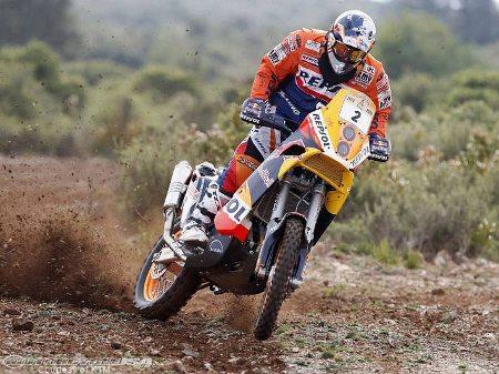 A cada etapa Marc Coma está mais próximo do título do Dakar 2014 - imagem de divulgação KTM