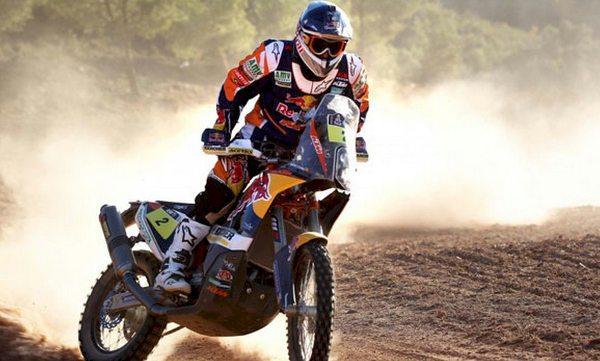 Exceto por algum percalço de trajeto, ninguém mais tira esse título de Marc Coma - imagem de divulgação KTM