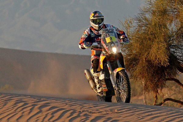 Apenas 535 km separam Coma do tetracampeonato do Dakar - imagem de divulgação KTM