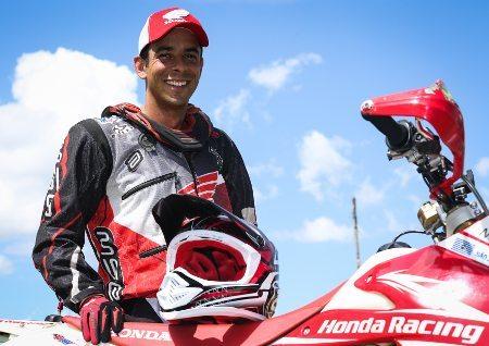 Dário Júlio se recupera de lesão sofrida no Dakar 2014