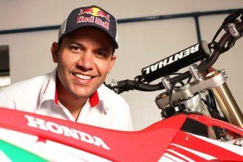 Felipe Zanol, consultor de rali e enduro da Honda