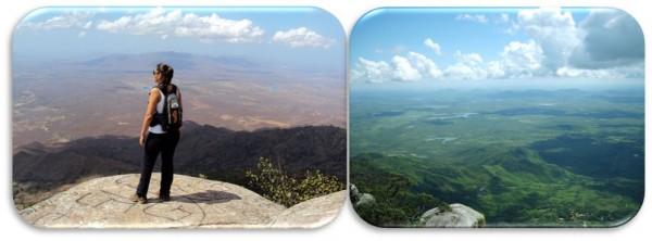Pedra da Rajada - 980 metros acima do nível do mar; uma aventura para poucos