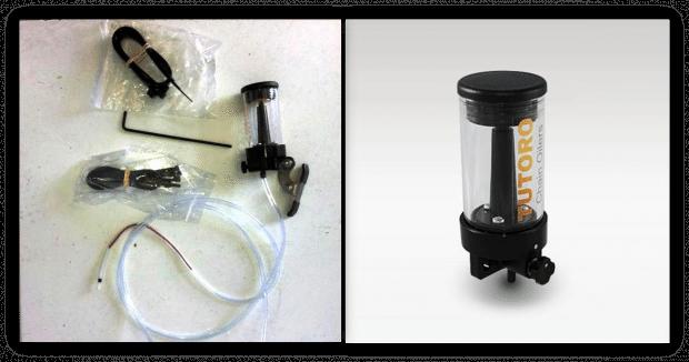 Kit chega desmontado. A montagem é muito fácil e pode ser realizada em qualquer moto que possua sistema de transmissão movido por corrente.