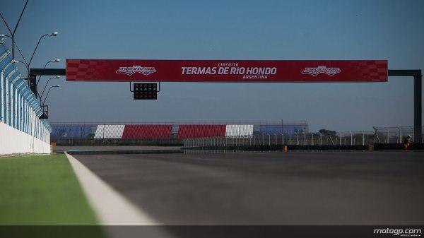 Autódromo argentino Termas do Rio Hondo recebe homologação máxima da FIM