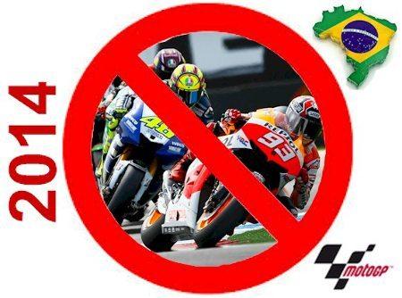 Praticamente certa a ausência da MotoGP™ no Brasil em 2014